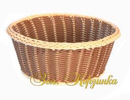 Хлебница круглая (искусственный ротанг)