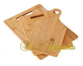 Доска кухонная комплект 3 шт