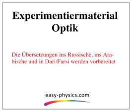 Fremdsprachliche Anleitungen Optik