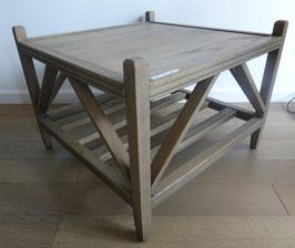 eiken salontafel 70x70 cm