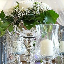 Blumenschale für Kerzenleuchter versch. Farben - Leihartikel
