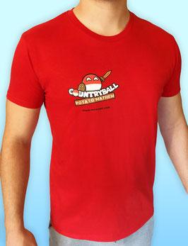 Fan-Shirt Countryball Potato Mayhem