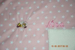 Babydecke mit Sternen