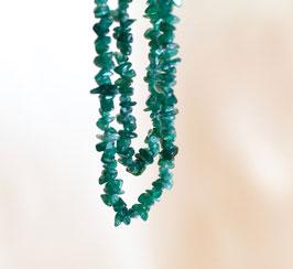 AVENTURIN Splitterkette grün (endlos)