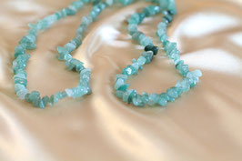 AVENTURIN Splitterkette jade-grün (endlos)