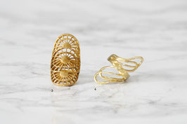RING Brass Boho