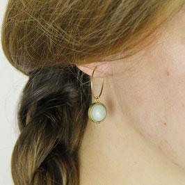 GEMSTONE Earring Creole