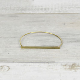 CUFF Bracelet Bar hammered