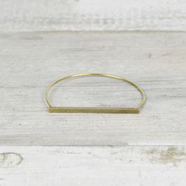 Cuff Bracelet Bar hammered