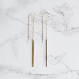 THREAD Earring simple Bar
