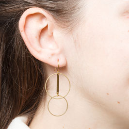 EARRINGS Circles and Circles