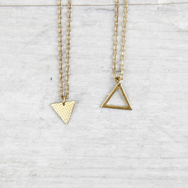 NECKLACE short mini Triangle