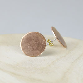 COPPER Stud Circle big