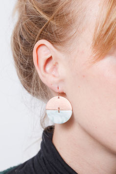 EARRING Copper Semi Circle