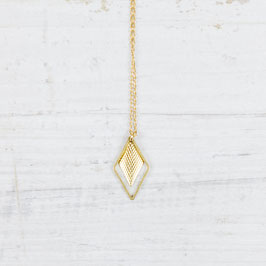 NECKLACE long Diamond structure