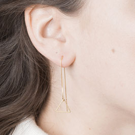 THREAD Earring Triangle´s