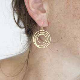EARRINGS Circle in Circle