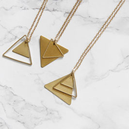 NECKLACE long Triangle Mix