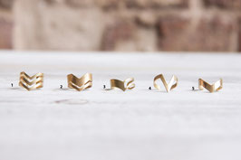 RING Brass geometric
