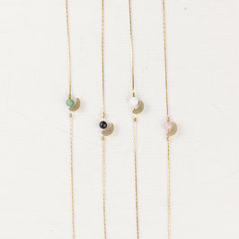 BRACELET Gem Moon & Beads