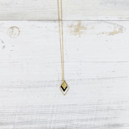 NECKLACE long Diamond Enamel