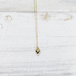NECKLACE long Diamond Enamel