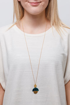 NECKLACE long Semi Cirlce