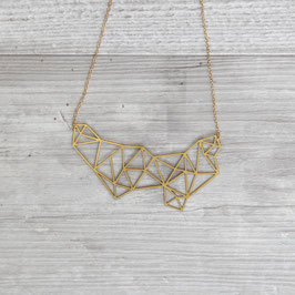 NECKLACE short lasered Polygon