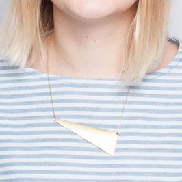 NECKLACE short asymmetrical Triangle