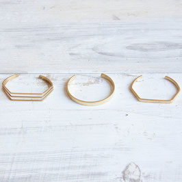 CUFF Bracelet simple Shapes