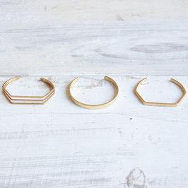 CUFF Bracelet simple Shapes