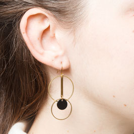 EARRINGS Circles and double Circle