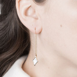 THREAD Earring Diamond with Gem