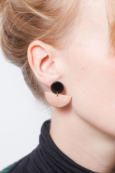 STUDS Copper Semi Circle