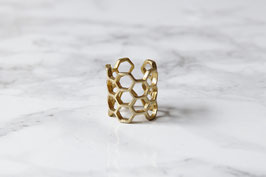 RING Brass Honeycomb