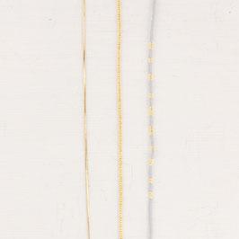 ANKLET Miyuki Beads 24K SET