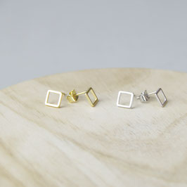 STUDS simple small Square Outlines