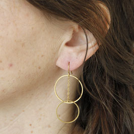 EARRING geometric Circles