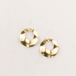 EARRINGS Waved Circles