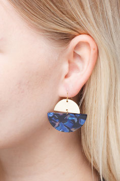 EARRINGS Semi Circle Moon