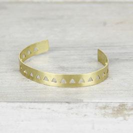 Cuff Bracelet Triangles