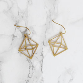 EARRING geometric Diamond