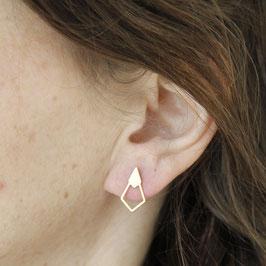 STUDS Rhombus Diamond lasered