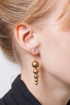 EARRING asymmetrical Beads