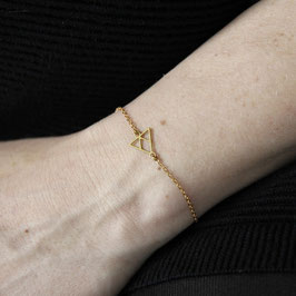 BRACELET Triangle lasered