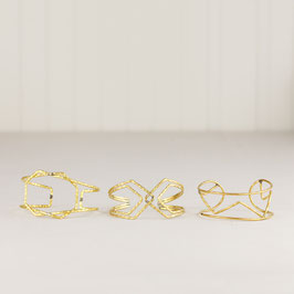 CUFF Bracelet Wire Shapes
