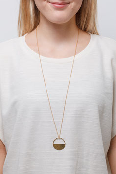 NECKLACE long Semi Circle