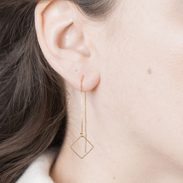 THREAD Earring Square ´s