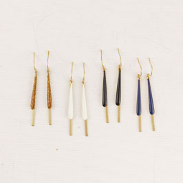 EARRINGS Bar Enamel