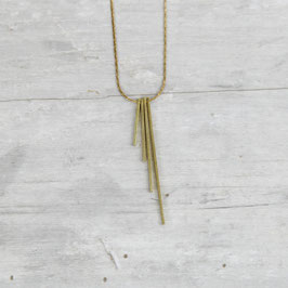 NECKLACE short half Fan Bars